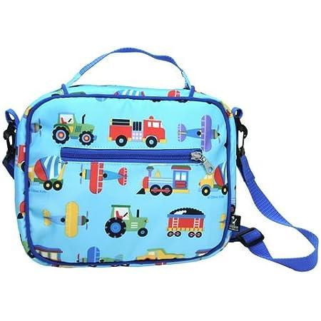 Wildkin Olive Kids Trains, Planes & Trucks lunch bag