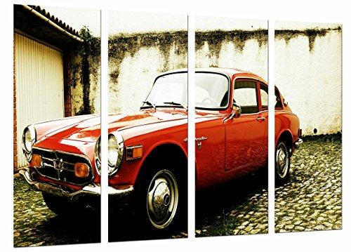 Cuadro coche clásico moderno