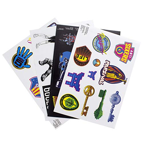 Ready Player One Gadget sticker, vinyl, meerkleurig, 21 x 15 x 1 cm