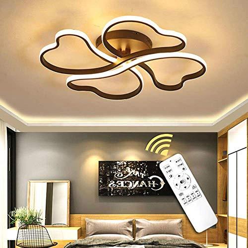 HLL Nouveauté Plafonnier, Lustre Led Simple Lustre De Plafond Moderne Éclairage pour Foyer Salon Chambre Cuisine...