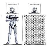 BERONAGE Wende-Bettwäsche Star Wars Suit-Up Stormtroopers 135x200
