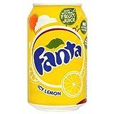 Fanta Limón helada 330ml (paquete de 24 x 330 ml)