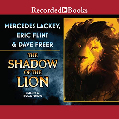 The Shadow of the Lion audiobook cover art