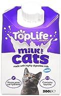 Delamere Dairy Toplife Cat Milk, 200 ml, Pack of 18