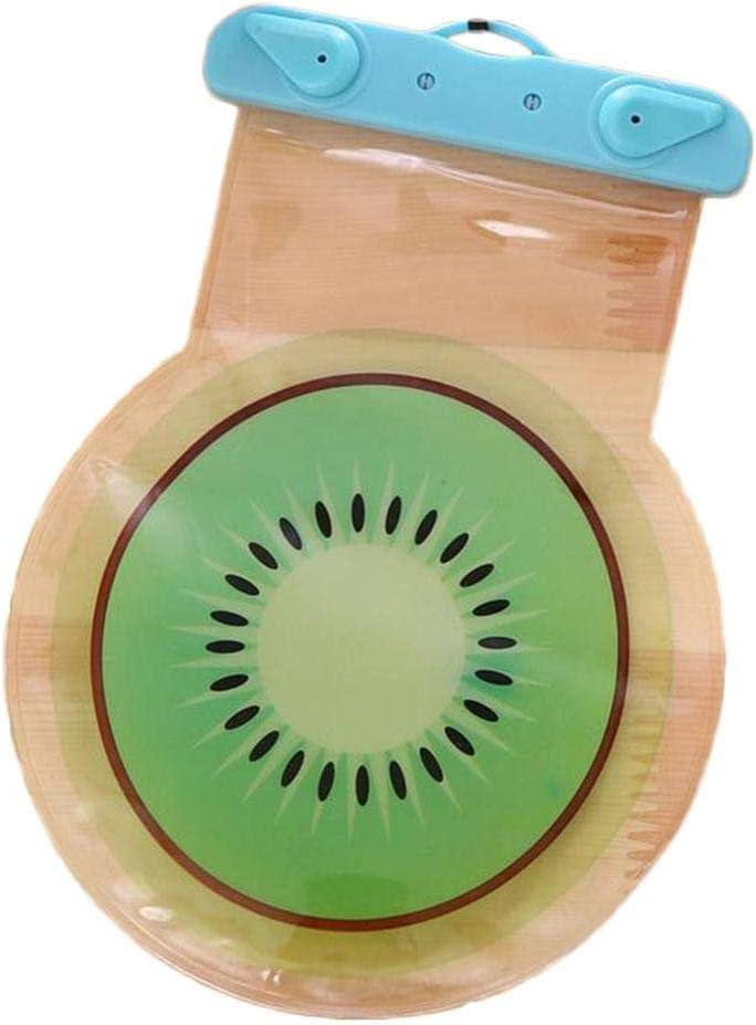 Vaskey Universal Waterproof Case Cartoon Fruit Pattern Phone Pouch Underwater Cellphone Dry Bag Dry Pouch