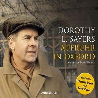 Aufruhr in Oxford Titelbild