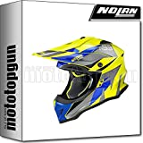 NOLAN CASCO MOTO CROSS N53 PORTLAND LED GIALLO 060 TG. S