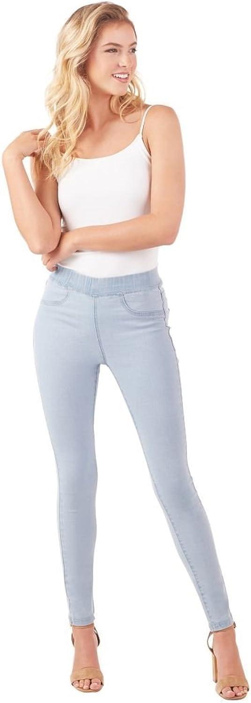 Mud Pie Women's Fashion Light bluee Elyse Denim Leggings Pants Extra Small