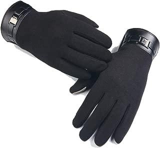 Women Mens Winter Warm Gloves Male Full Finger Smartphone Screen Cashmere Gloves Mittens
