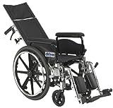 Drive Medical Viper Plus GT Full Reclining Wheelchair,...