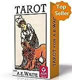 Premium Tarot von A.E. Waite - Standard (Tarotkarten im Standardformat 7 x 12 cm): Karten im Standardformat, Premium Edition