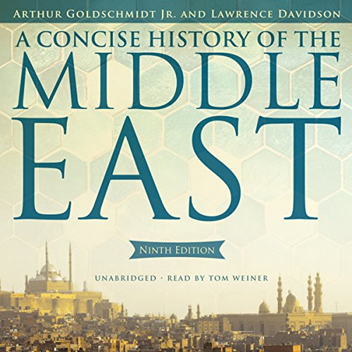 A Concise History of the Middle East, Ninth Edition Audiobook By Arthur Goldschmidt Jr.,                                                                                        Lawrence Davidson cover art