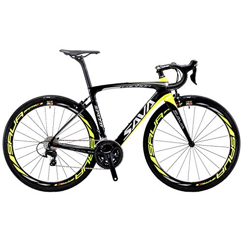 SAVADECK HERD6.0 700C Bicicleta de Carretera de Fibra de Carbono Shimano...