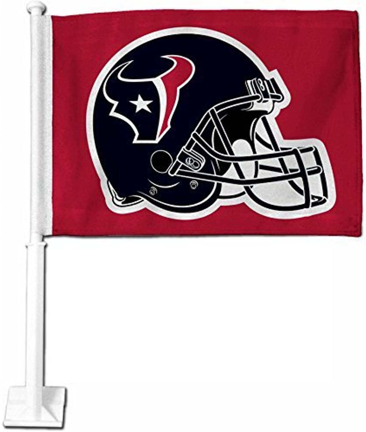 Houston Texans Car Flag (Red) by Rico
