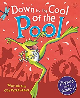 Down By The Cool Of The Pool by [Tony Mitton, Guy Parker-Rees]