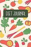 Diet Journal: Diet Log Book   120 pages