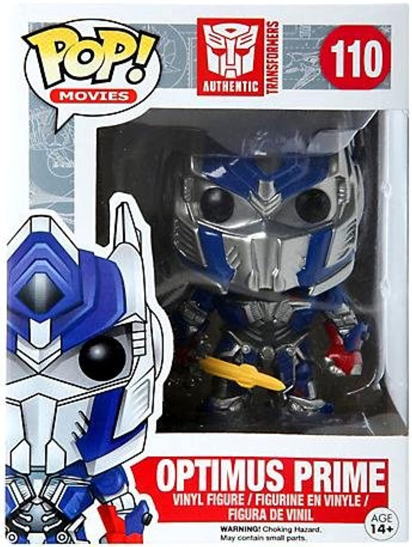 Funko Pop  Movies Vinyl  110 Hot Topic Exclusive Optimus Prime (Transformers  Age of Extinction)