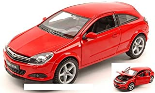 Welly WE2469R Opel Astra GTC 2005 Red 1:24 MODELLINO Die Cast Model Compatible con