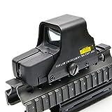 Reflex Mirino Red DOT Mirino Collimatore Fit Caccia di Airsoft Gun Holographic Sight per Caccia Esterna