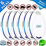 U-misss Ultrasonic Pest Repeller Plug in - Mice Repellent & Rat Repellent in Pest Repellent - Bug Repellent for Ant,Mosquito,Mice,Flea,Fly,Spider,Roach,Rat -(6 Pack)