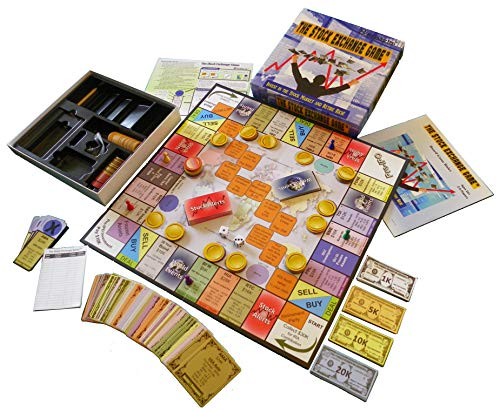 Stock Exchange Game by The 8th Kid Games