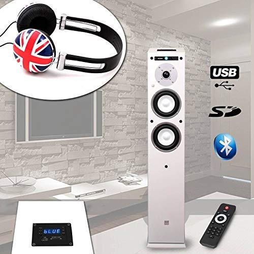 Spalte koda-center-wh USB/Bluetooth–/60W + Kopfhörer soundlab-a081British