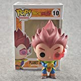 Funko Pop Dragonball - Planet Arlia Vegeta #10 Vinyl 3.9inch Animation Figure Anime Derivatives,Mult...