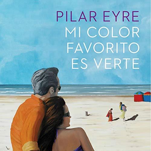 Diseño de la portada del título Mi color favorito es verte