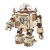Robotime de Corte de láser de Madera de Rompecabezas-DIY Mecanismo de música de Caja de Madera...