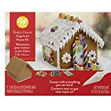 Wilton Ready-to-Decorate Gingerbread House Decorating Kit