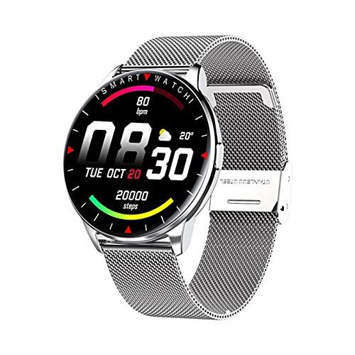 XYZK Moda Deporte Smartwatch Mensaje Notificación Control De Música Información del Tiempo Y90 Smart Watch Band,J