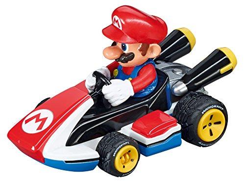 Carrera 20064033 Go!!! Nintendo Mario Kart 8 Rennauto für alle Carrera GO!!! Bahnen | Zusätzlicher Mario-Rennwagen als Erweiterung für Bahnen im Maßstab 0.0715277777777778 | Für Kinder ab 6 Jahren & Erwachsene