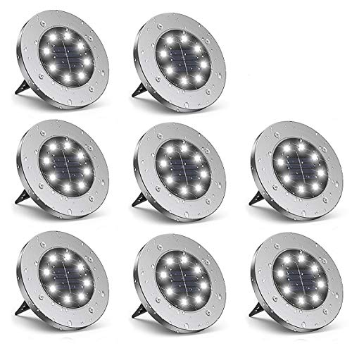 BeIM Solar Bodenleuchten 8 LEDs...