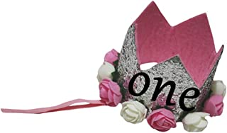 Petitebella Baby Girls' Bling Rose Floral Silver Crown Headband Clothing Accessory for