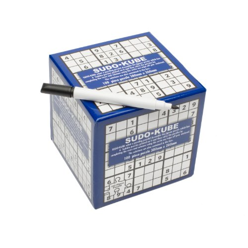 Sudo-Kube With Pen - Sudoku (Funtime Gifts)