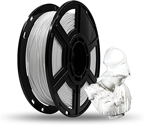 Flashforge® PLA 3D Printing Filament 1.75mm 0.5KG/Roll for Finder and Adventurer 3((White)