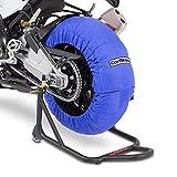 Calentadores de neumáticos Set 60-80 C Azul para Kawasaki ZX-10 R/RR, ZX-6R/ 636, ZX-7R