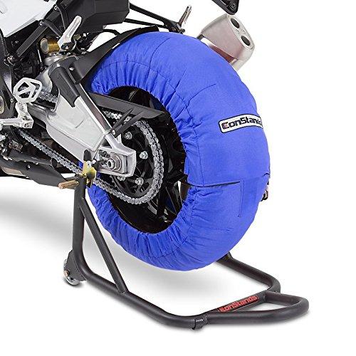 Calentadores de neumáticos Set 60-80 C Azul para Honda CBR 900 RR Fireblade, CBR 600 RR