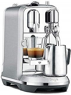 Nespresso Creatista BNE800 adaçayı, fırçalanmış, 1600 W, 1,5 litre, paslanmaz çelik (Plus)