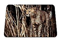 22cmx18cm マウスパッド (チーターグラスプレデター) パターンカスタムの マウスパッド
