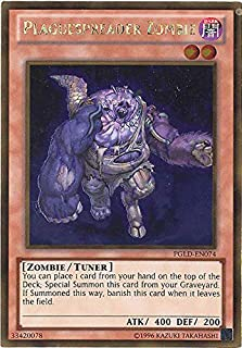 YU-GI-OH! - Plaguespreader Zombie (PGLD-EN074) - Premium Gold - Unlimited Edition - Gold Rare