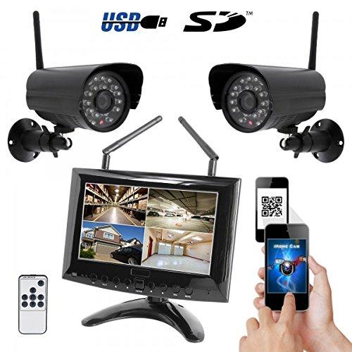 HaWoTEC HD Funk Video Überwachungssystem mit 7