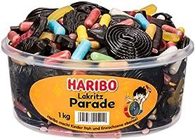 Haribo Lakritz Parade Lakritsmengsel 1 kg
