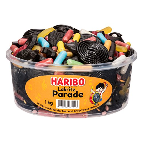 Haribo -  Lakritz Parade 1Kg