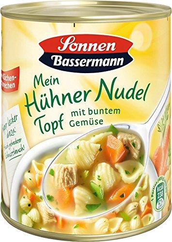 Sonnen Bassermann Hühner-Nudeltopf , 3er Pack (3 x 800 g Dose)