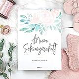Schwangerschaftstagebuch: 40 Wochen entspannt durch die Schwangerschaft, Schwangerschaftsplaner für alle Schwangerschaftswochen, Geschenk für Schwangere, Babybuch
