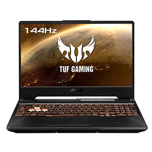 "ASUS TUF Gaming A15 FA506IU-HN278 - Portátil de 15.6"" FullHD (Ryzen 7 4800H, 16 GB RAM, 1TB SSD, GeForce GTX1660Ti 6 GB GDDR6, Sin Sistema Operativo) Negro Hoguera - Teclado QWERTY español"