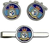 Giftshop UK 1 Aeromedical Evacuación Escuadrón, RAF Gemelos y Corbata Clip Set