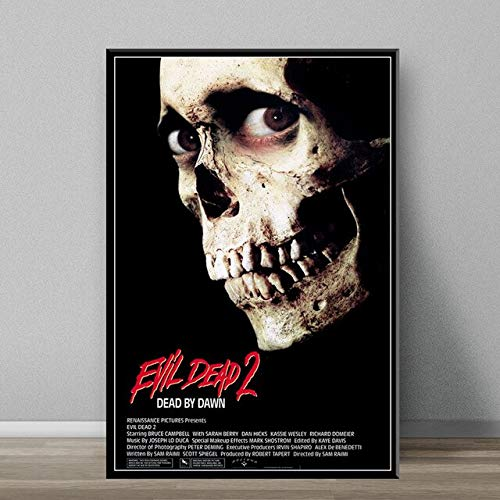 5D DIY diamante pintura The Evil Dead clásico película de terror arte pintura seda lienzo póster pared decoración del hogar sin marco-50x70cm