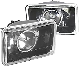 Spec-D Tuning LHP-4X6JM Black Projector Headlight (4X6)